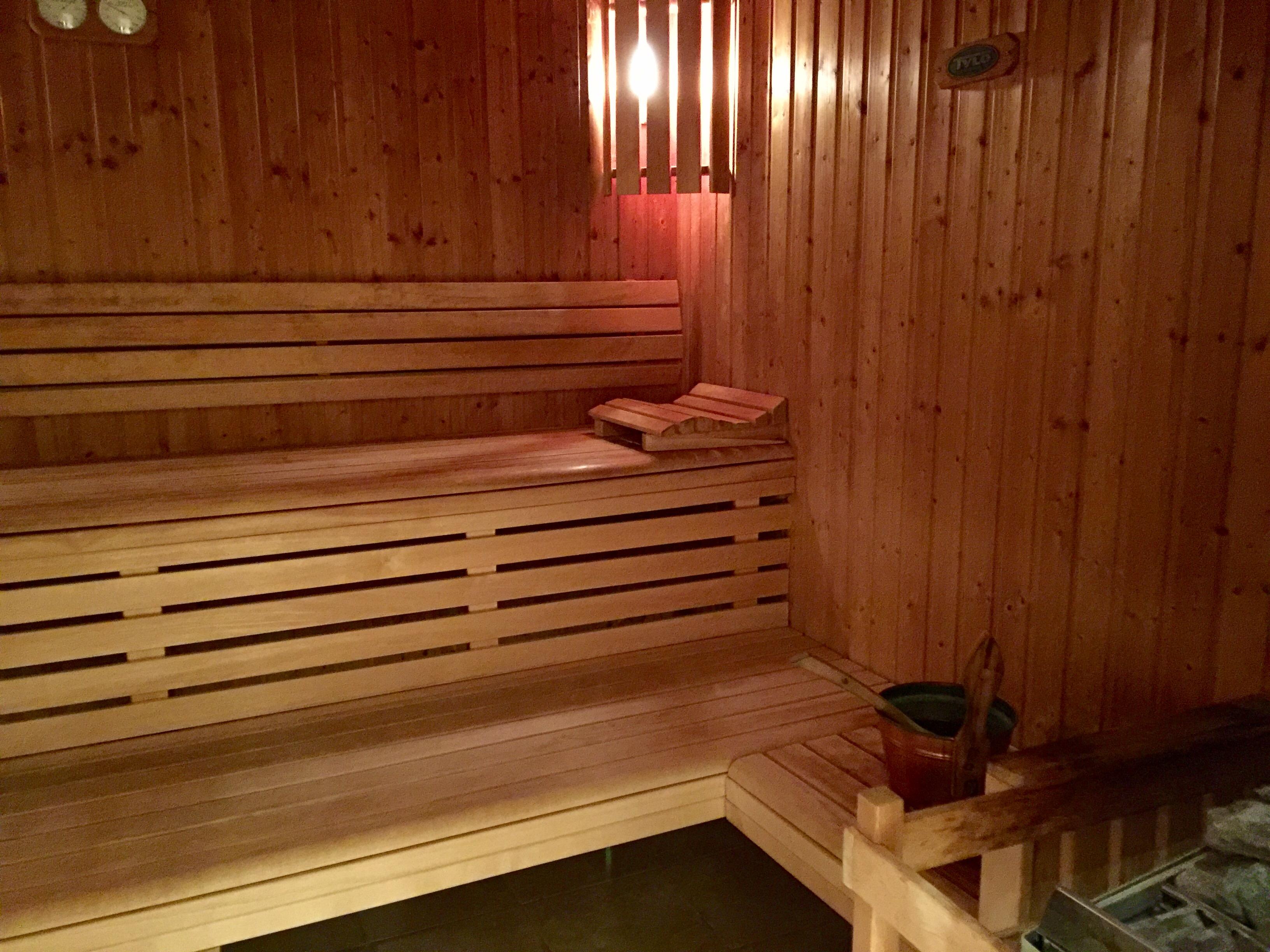 Sauna et Jacuzzi Spa Impérial