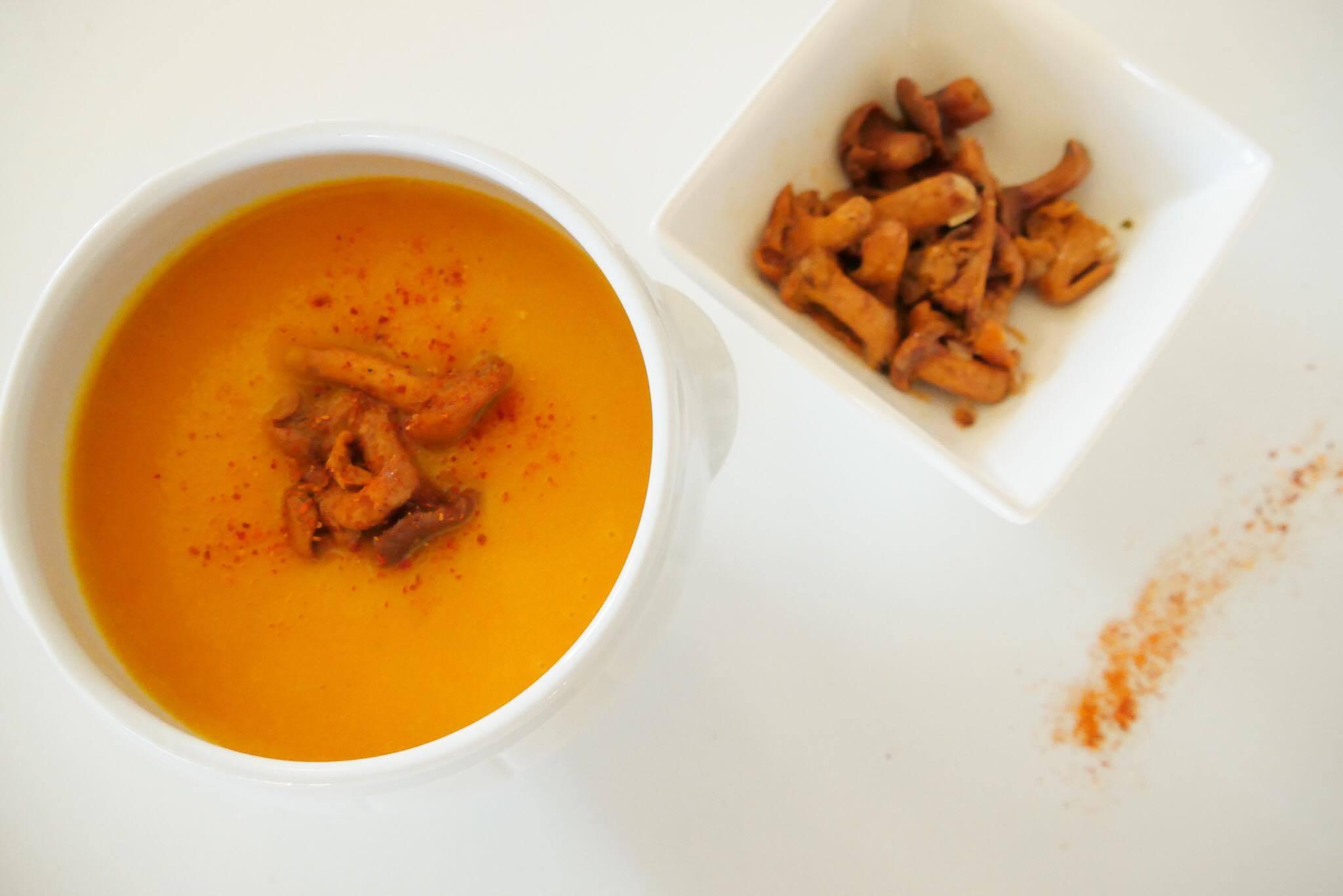 recette facile soupe potiron potimarron healthy manger sain