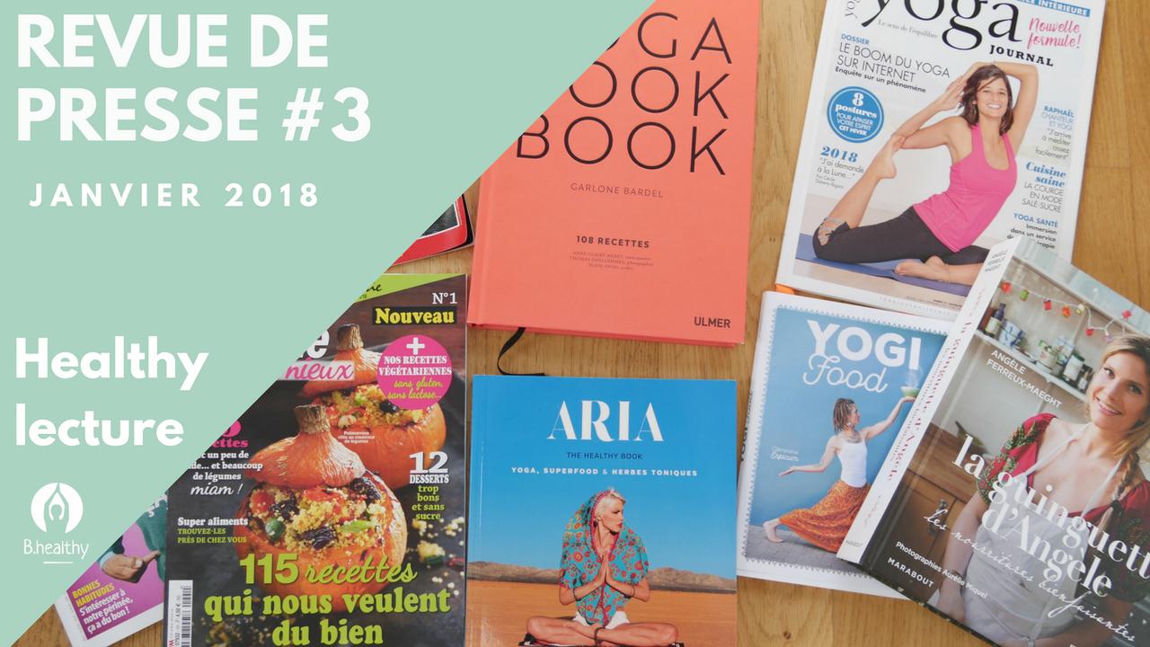Revue de presse Janvier Healthy nutrition yoga