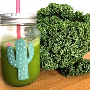jus vert chou kale healthy