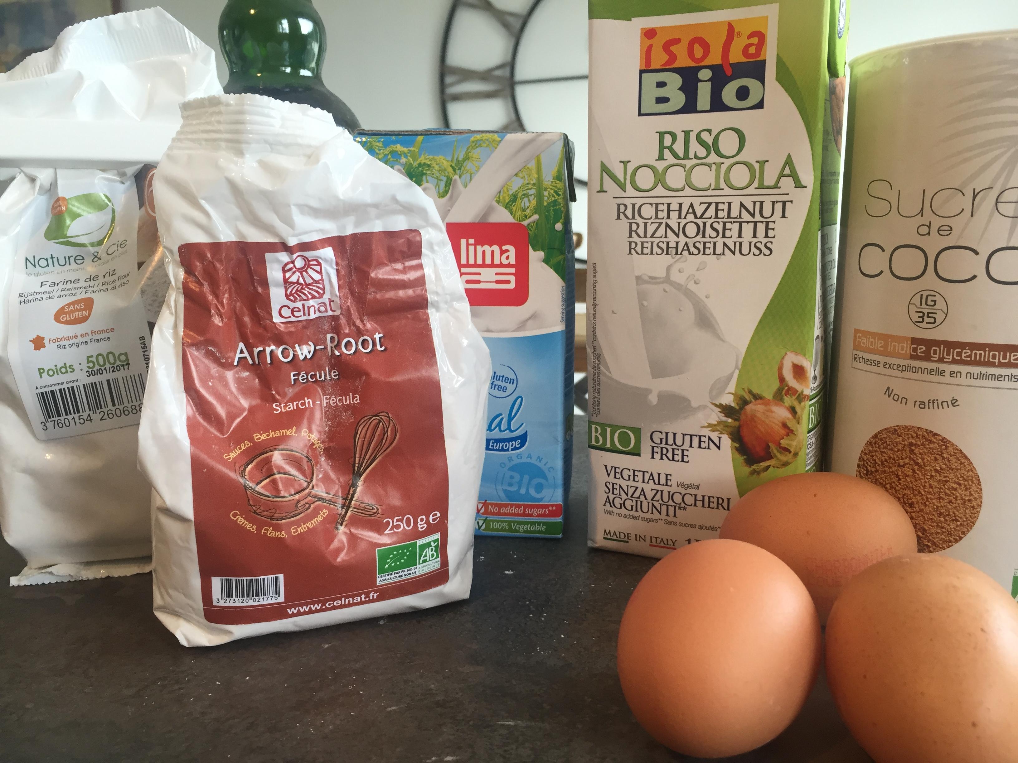 crepes sans gluten ingrédients