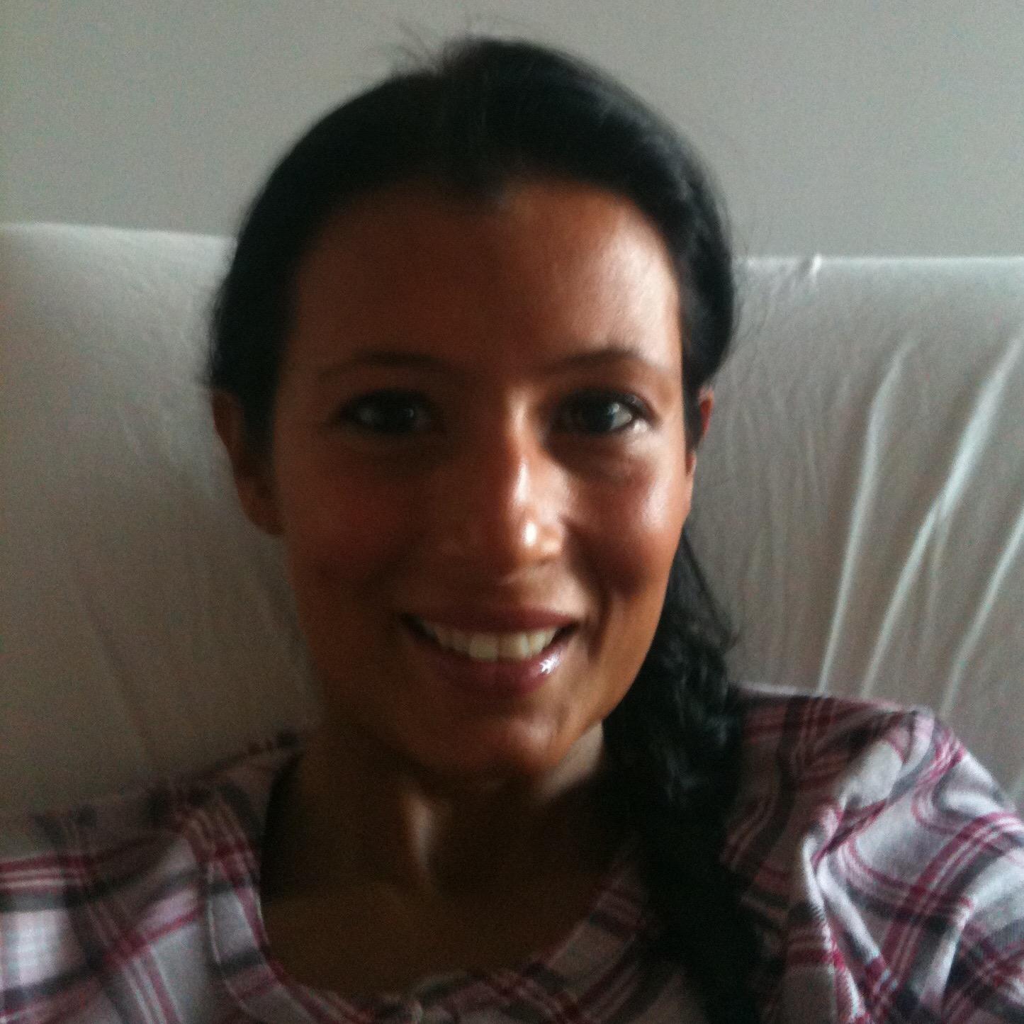 Le sourire : le lendemain de l'hystérectomie